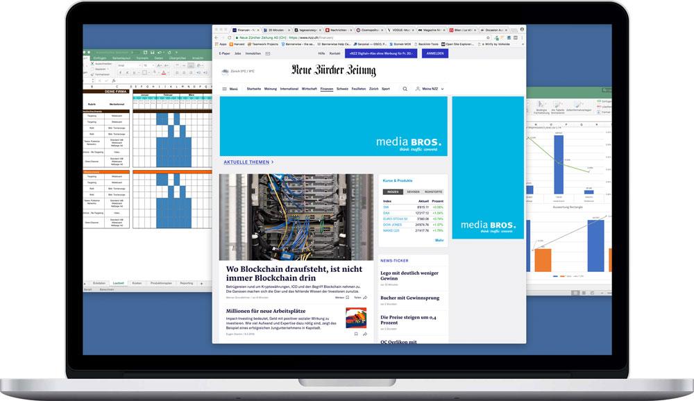 mediaBROS Online Media Planung Advertising und Reporting